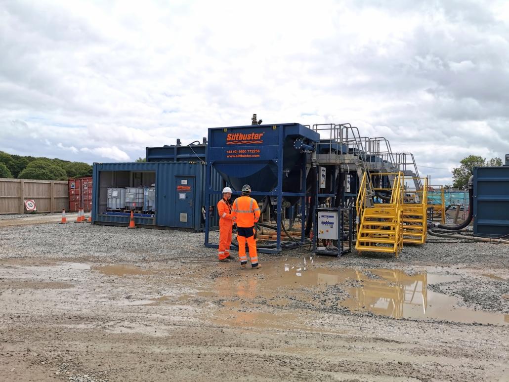 Siltbuster vattenrening i Sverige