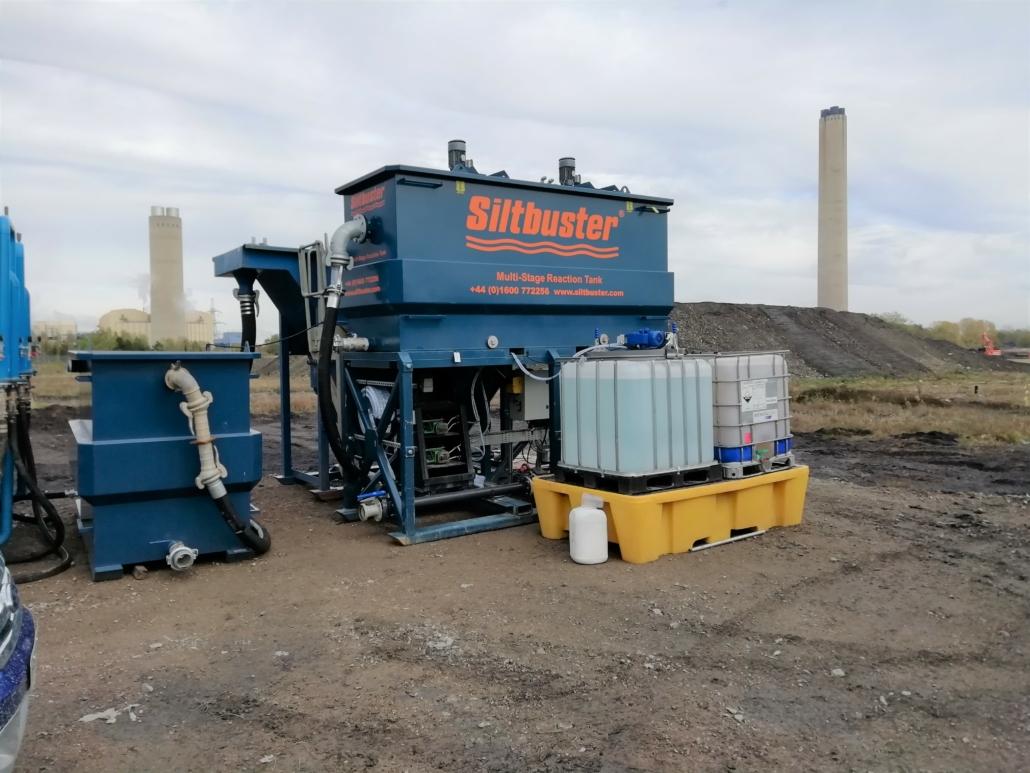 Projekt med Siltbuster vattenrening