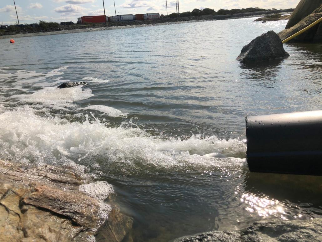 Vattenrening av CWE